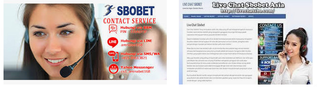 layanan kontak sbobet melalui live chat judi online
